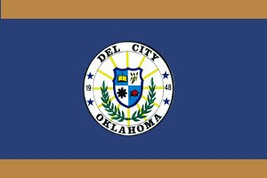 Del City, Oklahoma - Image: Del City Flag