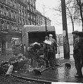 Demonstraties in Brussel tegen de Eenheidswet, stakers trekken door Luik, Bestanddeelnr 911-9365.jpg