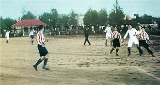 Madrid Derby - A Madrid derby in 1919