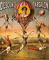Descente d'Absalon par Miss Stena, circus poster, ca. 1890.jpg