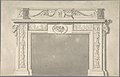 Design for a Classical Chimneypiece with Rams Heads, and Leda and the Swan. MET DP805614.jpg