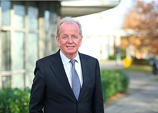 Desmond Fitzgerald (professor) Irish doctor, 5th President of the University of Limerick