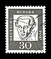 Deutsche Bundespost - Bedeutende Deutsche - Immanuel Kant - 30 Pfennig.jpg
