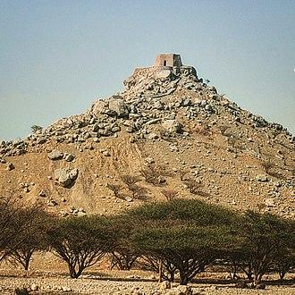Ras Al Khaimah - The hilltop fort of Dhayah