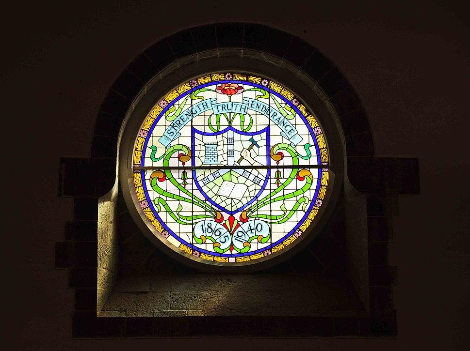Diamond jubilee window