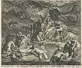 Diana ontdekt de zwangerschap van Callisto De Historij Van Diana En Acteon (titel op object), RP-P-1878-A-1247.jpg