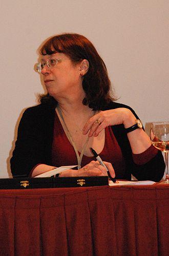 Diane Duane - Image: Diane Duane, Deepcon 11, 2010