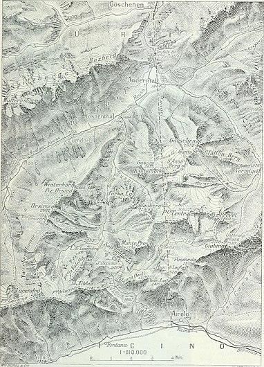 Dictionnaire géographique de la Suisse; publié sous les auspices de la Société neuchâteloise de géographie, et sous la direction de Charles Knapp, Maurice Borel, cartographe, et de V. Attinger, (14763297352).jpg