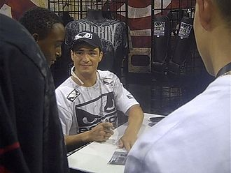 Diego Sanchez - At the UFC 100 Fan Expo event in Las Vegas, 2009