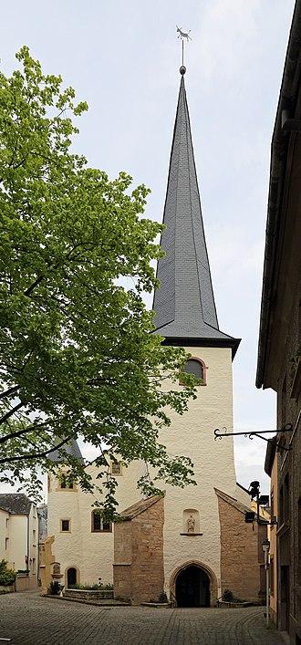 Diekirch - Image: Diekirch Saint Laurent R01