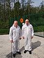 Director-General visits the demilitarisation plant at Poelkapelle (46778149945).jpg