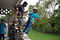 Disaster Management - Survival Programme - Summer Camp - Nisana Foundation - Sibpur BE College Model High School - Howrah 2013-06-09 9973.JPG