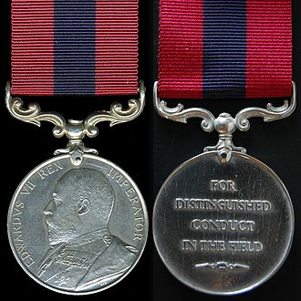 Distinguished Conduct Medal - King Edward VII version