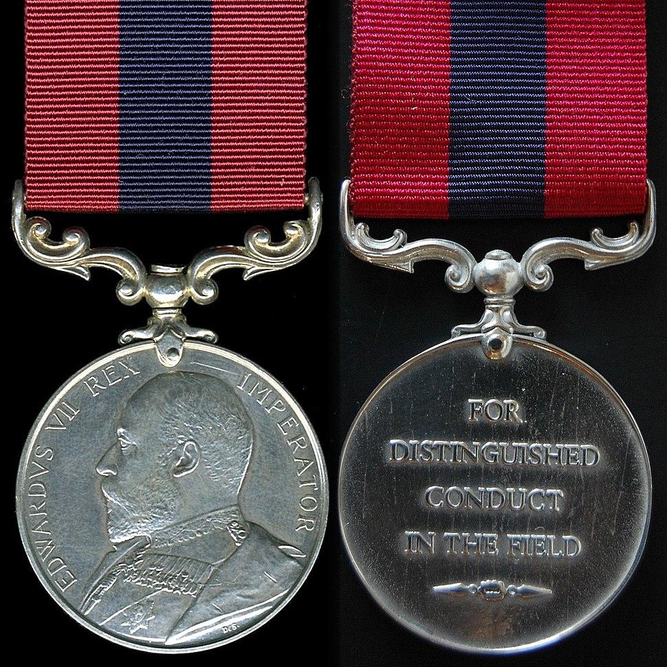 Distinguished Conduct Medal - Edward VII