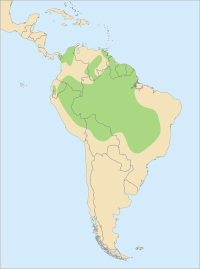 Distribution Ara ararauna.svg