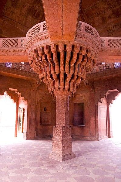 File:Diwan-i-khas, Fatehpur Sikri, India 2.jpg