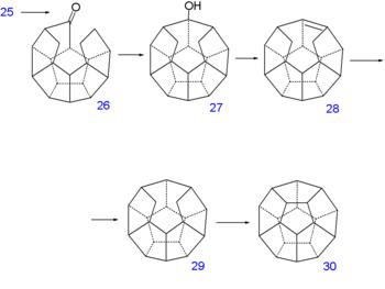 Dodecahedrane-sintezparto VI