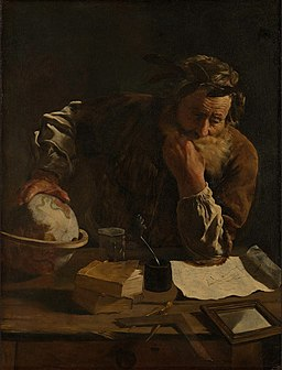 Domenico Fetti - Portrait of a Scholar - WGA07862