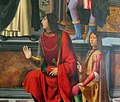 Domenico ghirlandaio e bottega, pala di san vincenzo ferrer, 1493-96, 02 Pandolfo IV Malatesta.JPG