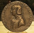Domenico poggini, medaglia di eleonora di toledo, 1551, argento.JPG