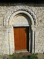 Doorway in south wall, St Mary Magdalene's - geograph.org.uk - 1206752.jpg