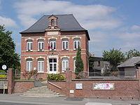 Dorengt (Aisne) mairie.JPG