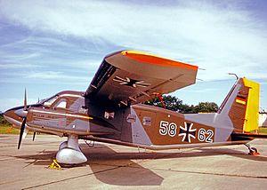 Dornier Do 28 - Do-28D-2 Skyservant of JBG36 German Air Force in 1973