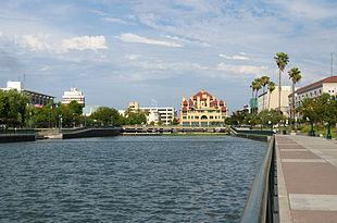 Downtown Stockton waterfront