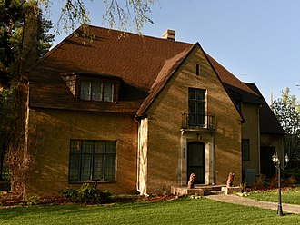 National Register of Historic Places listings in Burleigh County, North Dakota - Image: Dr. Alberts M. And Evelyn M. Brandt House