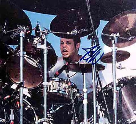 John Otto studied jazz drumming and played in local avant garde bands before joining Limp Bizkit. Drummer John Otto of Limp Bizkit in 2006.jpg