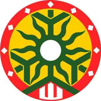 Druwi - The redos ratas symbol, logo of the Kurono Academy of Baltic Priesthood.
