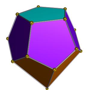 Gyroelongated pentagonal pyramid - Image: Dual gyroelongated pentagonal pyramid