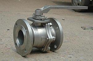 Duplex valve / ball valve.