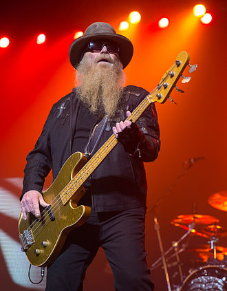 Dusty Hill - Dusty Hill performing live in 2015