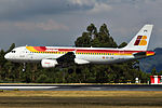 EC-JFN A320 Iberia SCQ 02.jpg