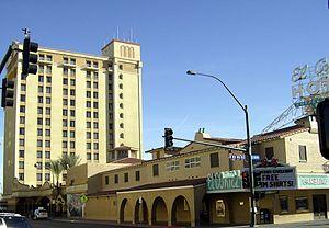 El Cortez (Las Vegas) - Image: EL Cortez Tower