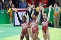 EUA levam ouro na ginástica artística feminina; Brasil fica em 8º lugar (28262782384).jpg