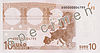 EUR 10 reverse (2002 issue)