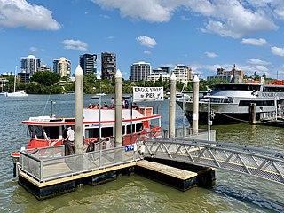 Eagle Street Pier ferry wharf