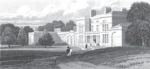 Senior Officers' School - Senior Officers' School at Earlstoke Park House (destroyed by fire in 1950).