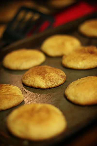 Cake Mix Snickerdoodle Cookie