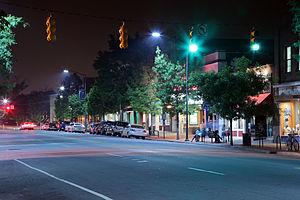 Franklin Street (Chapel Hill) - East Franklin Street crosswalk