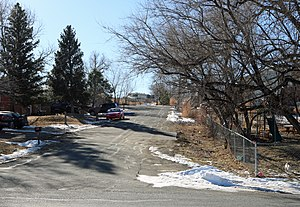 East Pleasant View, Colorado - Ellis Street in East Pleasant View.
