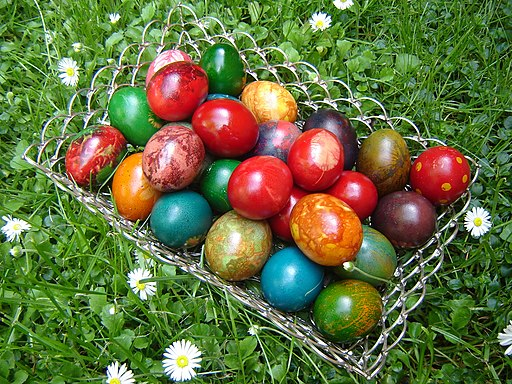 Easter eggs from Bulgaria