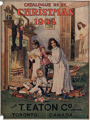 Eaton's Christmas Catalogue, 1904 cover