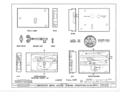 Ebenezer Smith House, 20 Main Street, Durham, Strafford County, NH HABS NH,9-DUR,4- (sheet 37 of 38).png