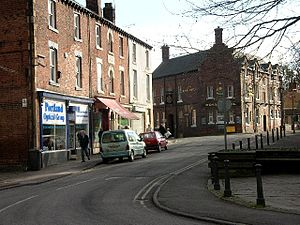 Eckington, Derbyshire - Image: Eckington Village Centre (NE Derbyshire) geograph.org.uk 113673