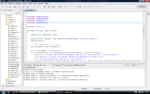 Screenshot di Eclipse (informatica)