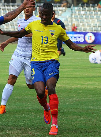 Enner Valencia - Valencia playing for Ecuador in 2015