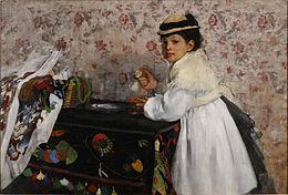 """Résultat de recherche d'images pour """"degas peint les enfants"""""""